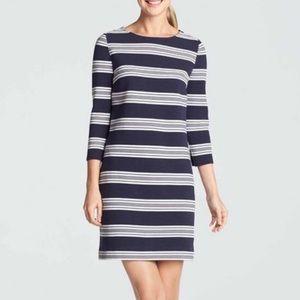 Draper JAMES Ottoman Striped Knit Shift Dress / SM